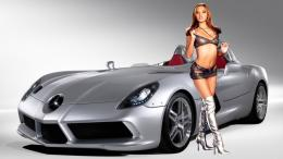 Car Girl HD Wallpapers 742