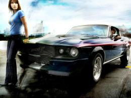 Car Girl HD Wallpapers 810