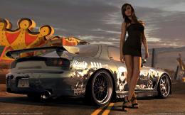 Need for Speed Prostreet Girl 786