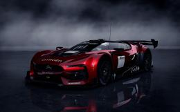 Free Download Polyphony Racing Car Black Background Wallpapers 1219