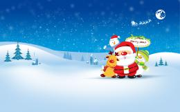 merry christmas celebration high quality wallpaper in hd for desktop 1278