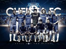 Chelsea Fc Wallpapers HD 2013 with some players and Logo for Chelsea 248