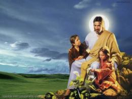 Jesus Christ with children HD Wallpaper By Priya Sharma 645
