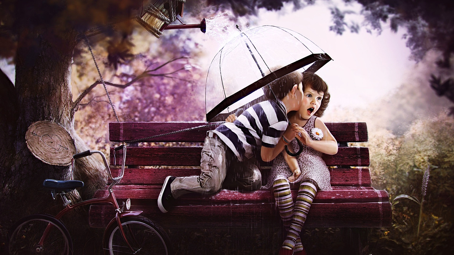Love couple Wallpaper In 3d : 40 children Love couple HD Wallpaper,Images,Pictures,Photos,HD Wallpapers 1455 :: children Love ...