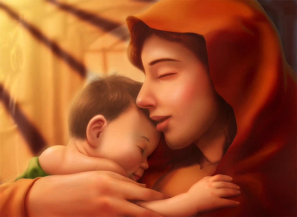 50 Mother and Child Love HD Wallpapers, Baby and Mother Love