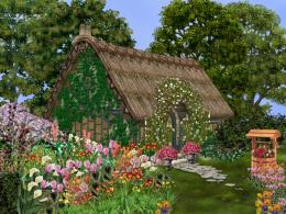 OLD COUNTRY COTTAGE wallpaper 535