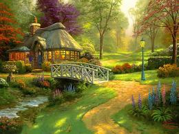 Friendship cottage Wallpaper for desktop background 735