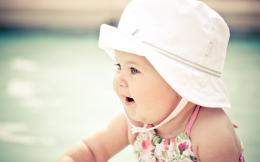 Cute Baby With Hat 1086