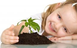 Cute Baby Girl Plant 1604