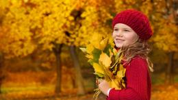 Cute Baby in Autumn HD Wallpapers 404