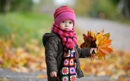 Cute Baby in Autumn 1299