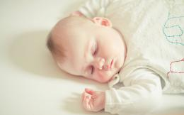 Cute Sleeping Baby 1880