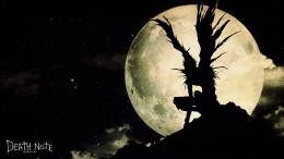 Death Note Wallpaper 1366x768 Death, Note, Moonlight, Ryuk, Shinigami 715