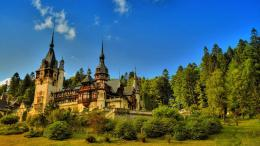 European Castle in the Forest Wallpaper 1974