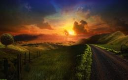Beautiful Fantasy Sunset Wallpaper Beautiful Fantasy Sunset Wallpaper 1531
