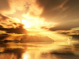 HomeWallpapersPhotographsFantasyForeign sunset 1162