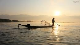 Fishing Boat Silhouette HD Wallpaper 1348