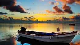 high resolution hd lonely boat wallpapers lake boats hd wallpapers 1767