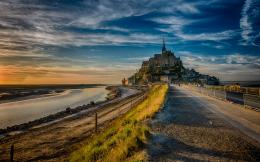 France Mont Saint Michel Island HD Wallpapers 1224