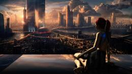 Futuristic City Wallpaper HD 979