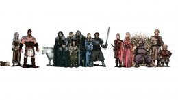 game of thrones cast wallpaper 1389