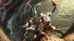 God Of War Game Wallpaper with 1366x768 Resolution 1642