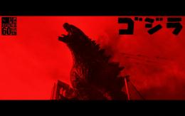 Godzilla 2014 Background RED by Cheezyspam 619