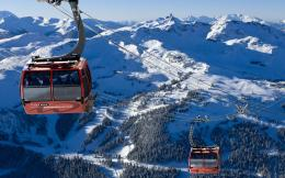Wallpapers BackgroundsPeak Gondola Whistler British Columbia Canada 1730