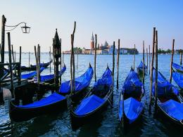 Wallpaper Venetian gondola, water, venice, City Wide 1024x768Cities 895