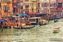 wallpaper Venice, Boat, gondola, Tourists free desktop wallpaper 1280