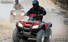 Download wallpaper Honda, ATV, FourTrax Rincon, 2006 FourTrax Rincon 950