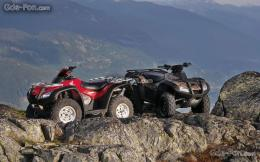Black Bike Honda Atv Free Wallpapers Download Desktop 696