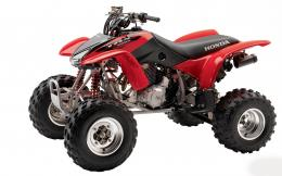 Red ATV Honda wallpaper download 1352