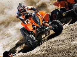 The KTM Enduro flagship sets new standards in the cross country sector 235