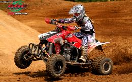 Heather ByrdHonda TRX450R ATVWomens AMA ATV MX 841