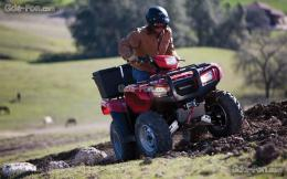 Download wallpaper Honda, ATV, FourTrax Foreman, 2012 FourTrax Foreman 1100