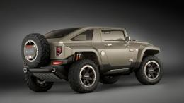Hummer Cars Hx Concept Car Wallpaper with 1366x768 Resolution 812