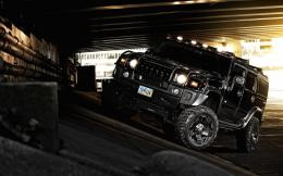 Black Hummer H2 Wallpaper 1941