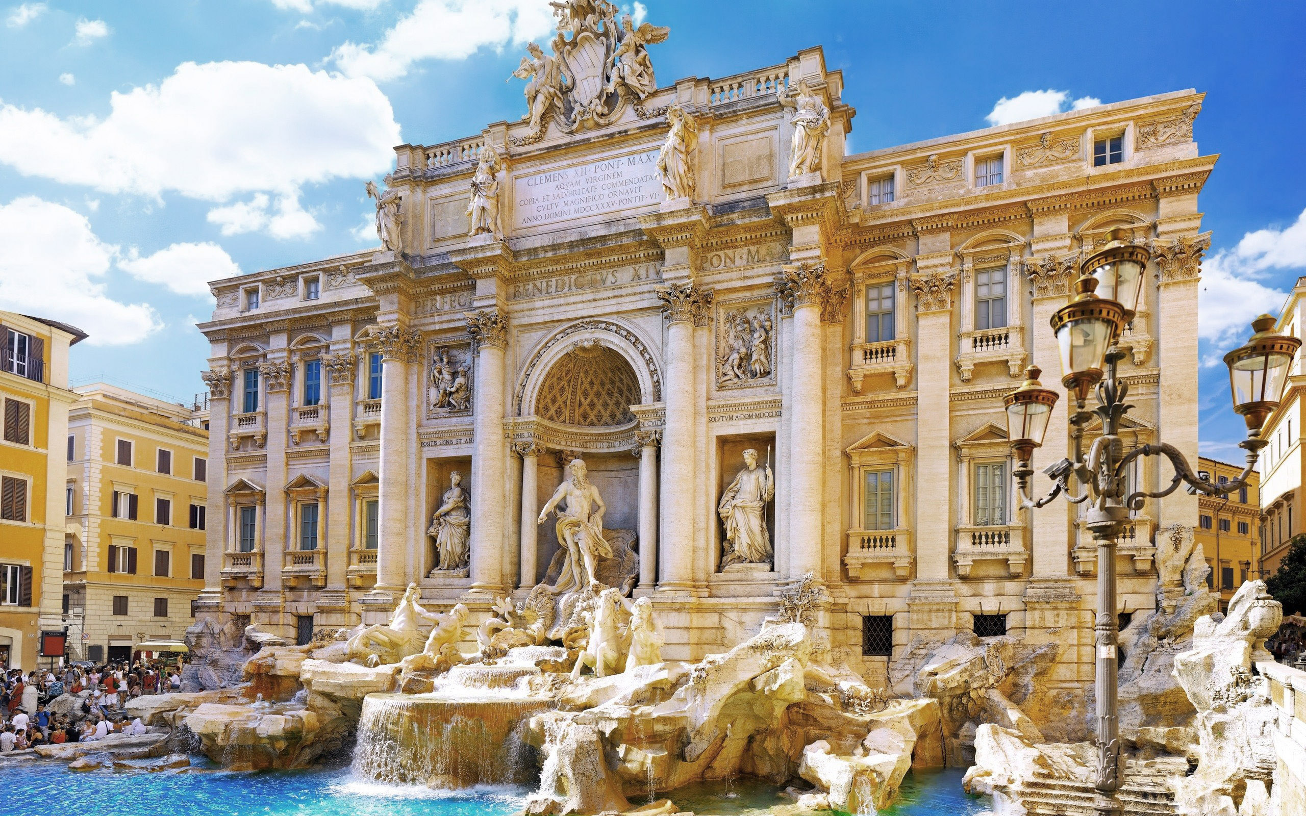 Wallpaper: Fontana di Trevi Rome Italy hd wallpapers 1735