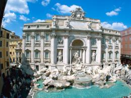 Trevi Fountain Rome Italy 1029