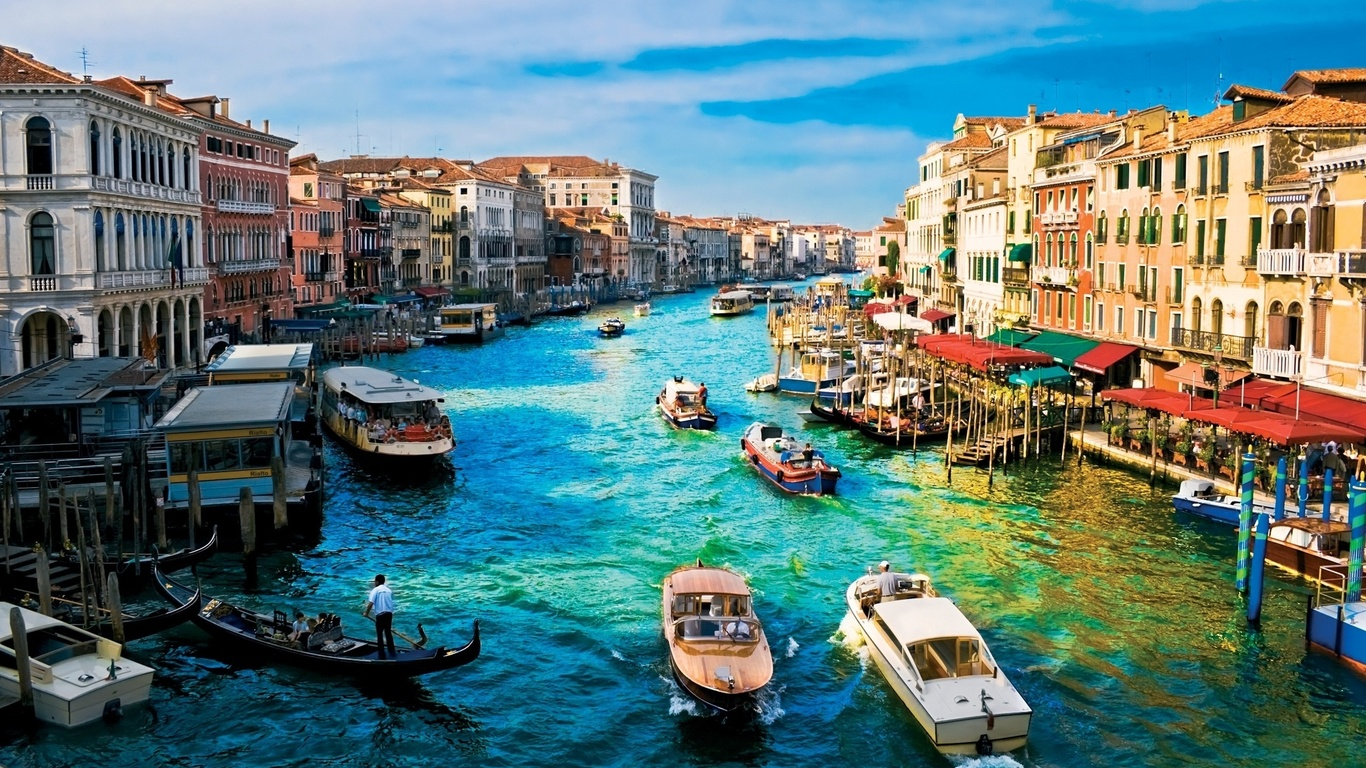 Hd Italy Venice Houses Canal Building Wallpaper Cities 174