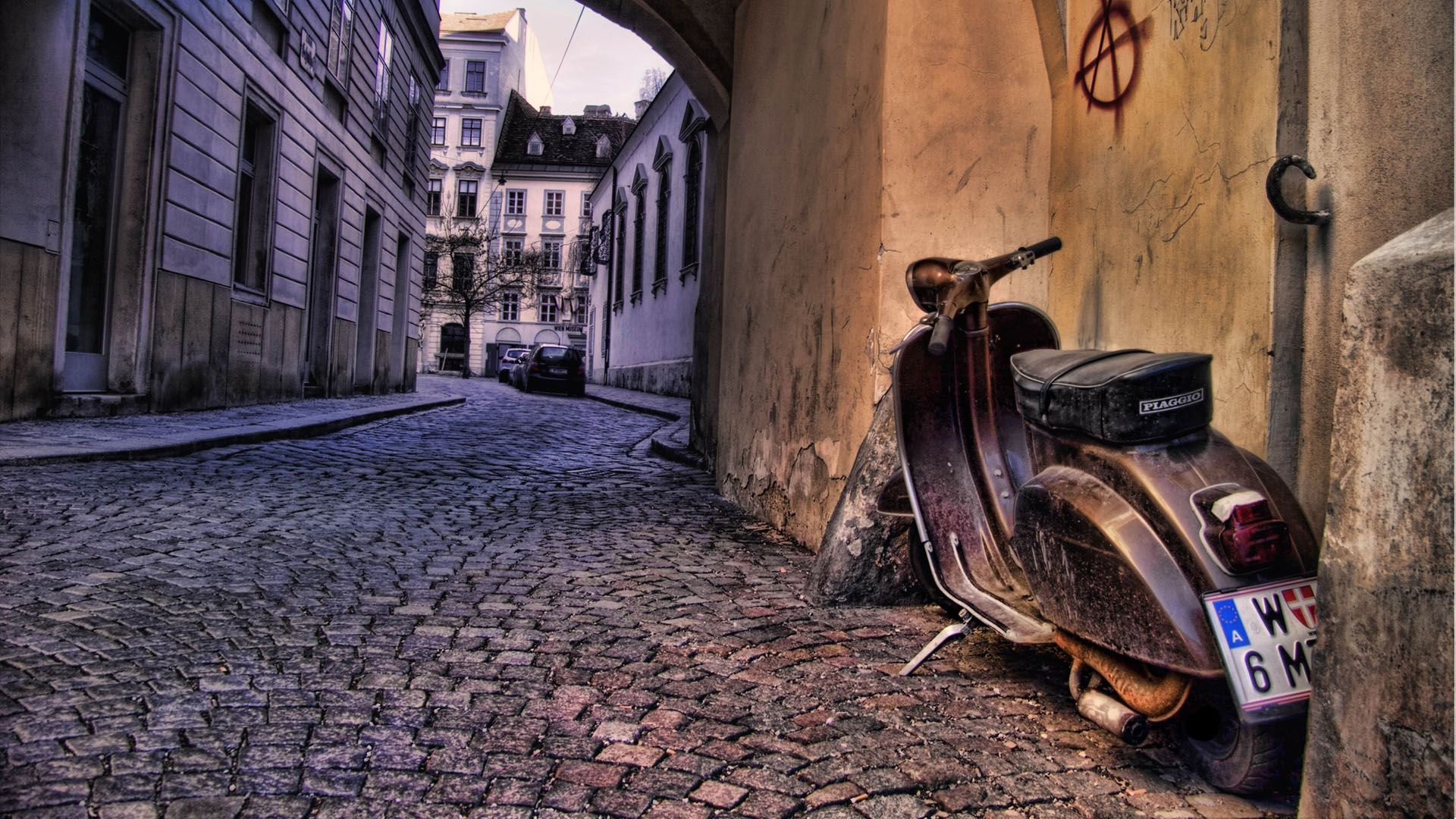 50 Scooters Old Scooter Italy Hd Px Wallpaper With 1920x1080 Resolution 1293 Italy Hd Wallpapers