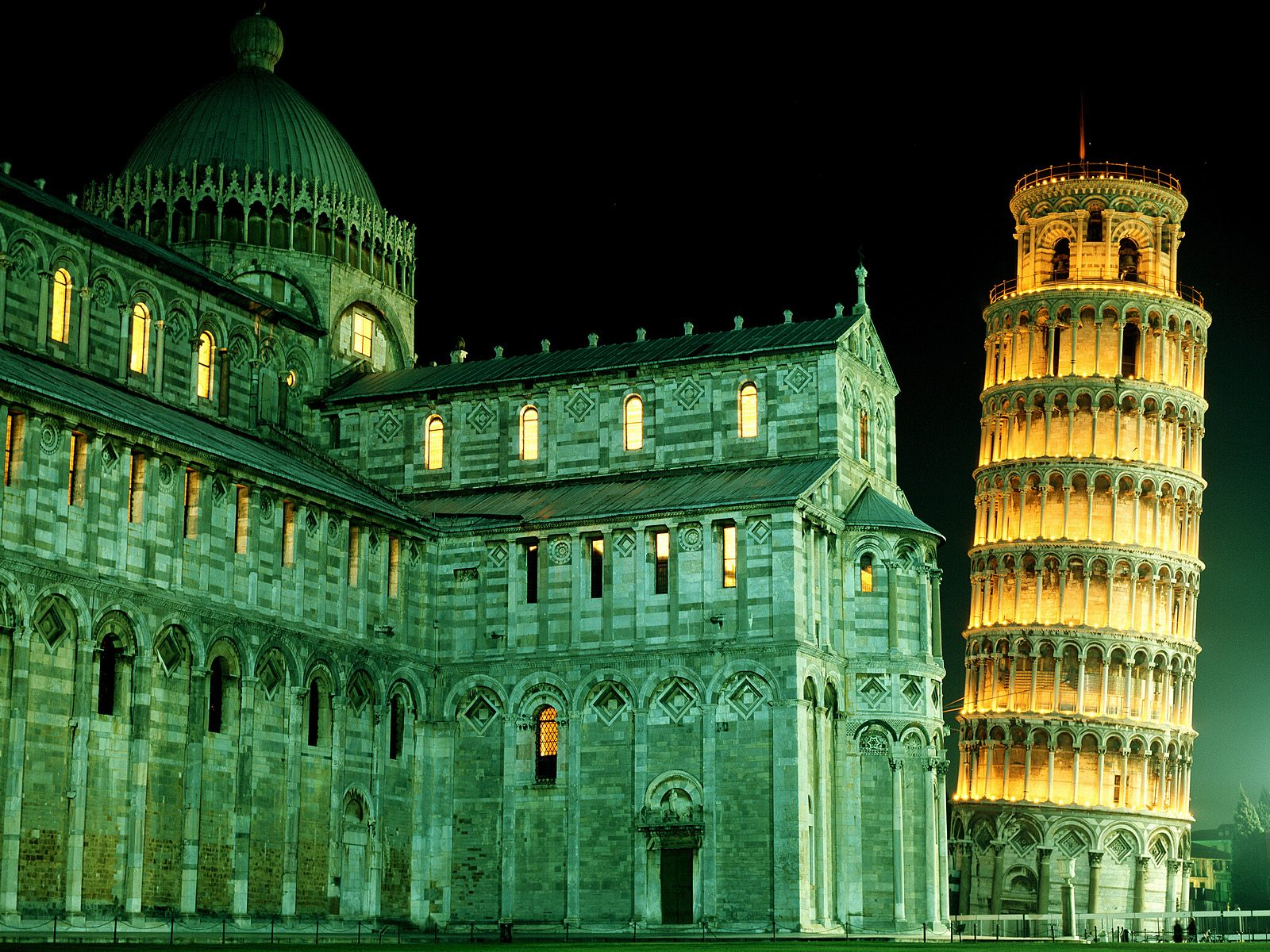 Amazing Leaning Tower of Pisa, Italy HD Wallpapers 1186