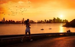 Image: Morning Run wallpapers and stock photos 1275