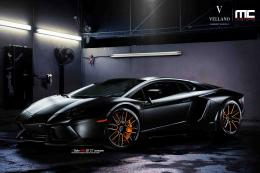 Lamborghini Aventador Black Vellano HD Wallpaper #3380 1156