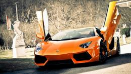 2014 Lamborghini Aventador Sports Cars Background HD Wallpaper 2014 283
