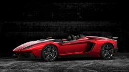 Lamborghini Aventador Roadster wallpaper 1575