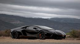 Lamborghini Aventador Black 1080p HD Wallpaper 1920×1080 pixel 1962