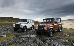 Land Rover Defender Fire Ice Editions 1755