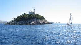 Download A Lighthouse In Kornati, Adriatic, Croatia wallpaper 799